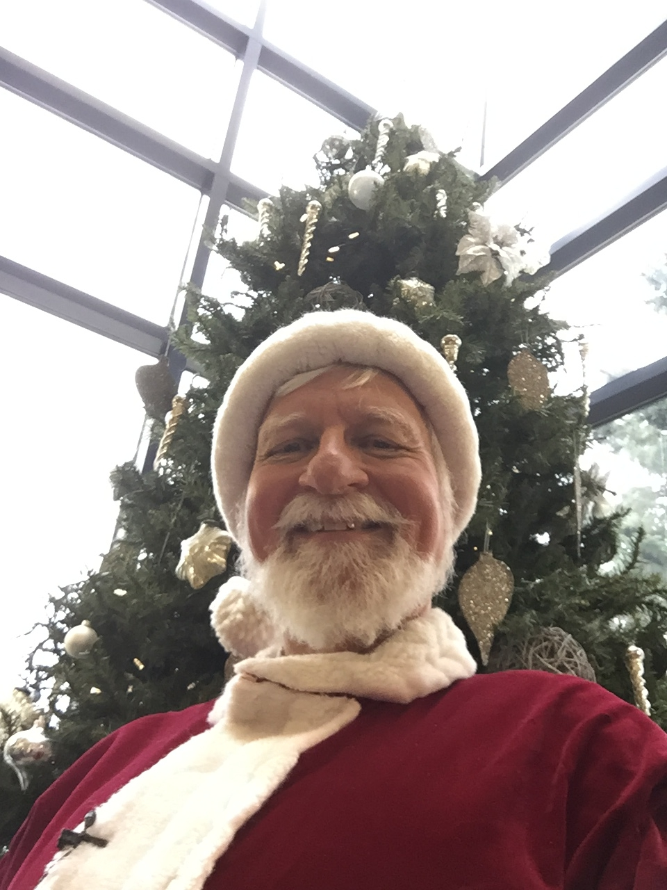 Santa at the Theatre...