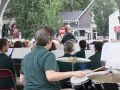 View from the back of the band