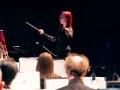 Kristie conducting